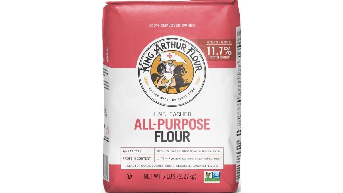 King Arthur Flour Unbleached All-Purpose Flour 5 lb recall