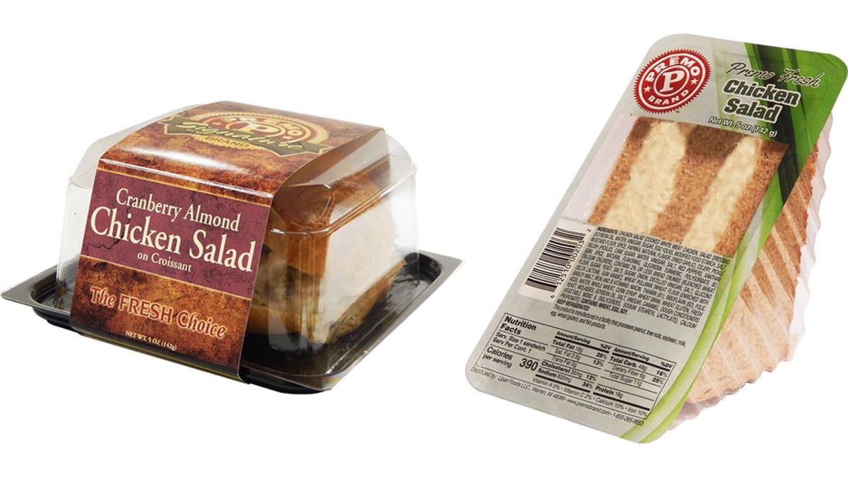 Lipari Foods recalls chicken sandwiches and salads