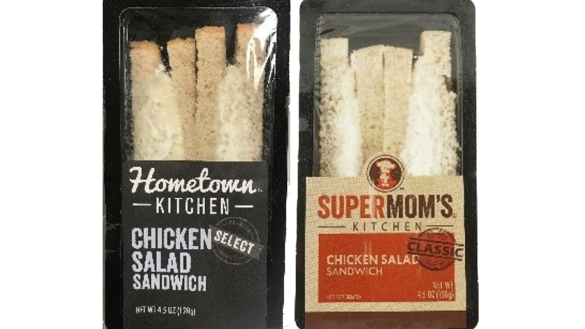 Northern Bakery recalls chicken salads sandwiches