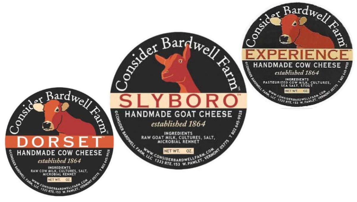 Consider Bardwell Farm Cheese Recall