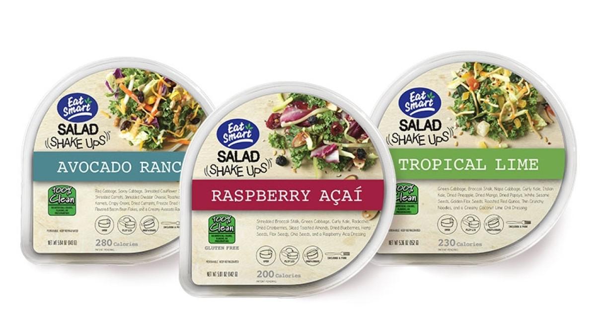 Salad Shake Ups – Raspberry Acai, Framboises et Acai, Product Image